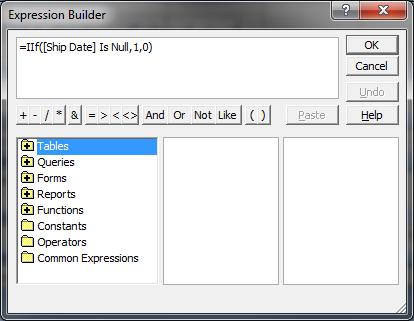 Expression Builder
